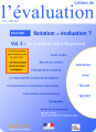 "Les cahiers de l'évaluation No. 6 - Report: Rating = assessment? - Vol. 3, ""Non-financial rating"""